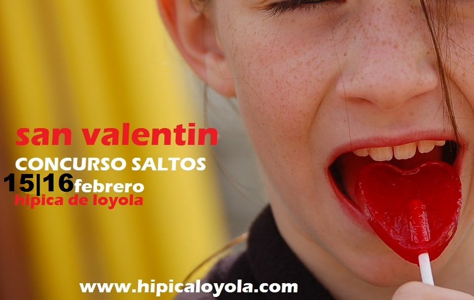 CONCURSO SALTOS SAN VALENTIN 15-16 FEBRERO (ONLINE EN DIRECTO)