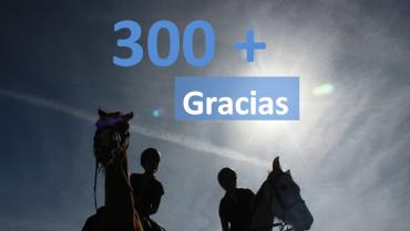300 ME GUSTA EN FACEBOOK
