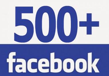 SUPERAMOS LA BARRERA DE LOS 500 LIKES EN FACEBOOK
