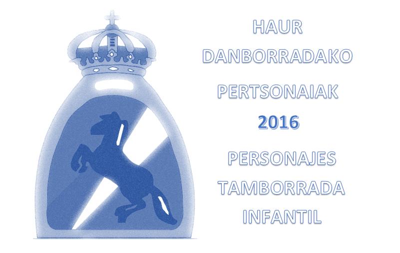 HAUR DANBORRADAREN KARGUAK | CARGOS HONOR TAMBORRADA INFANTIL 2016
