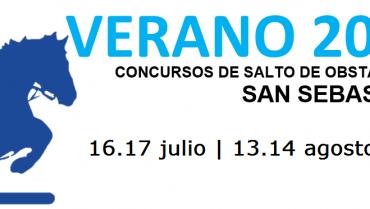CONCURSOS DE SALTO DE OBSTACULOS VERANO 2016