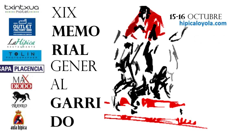 15-16 OCTUBRE XIX MEMORIAL GARRIDO