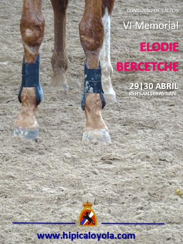 CLASIFICACIONES VI MEMORIAL ELODIE BERCETCHE 29-30 ABRIL