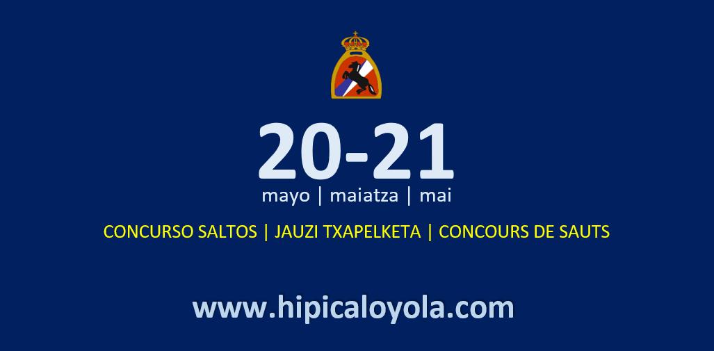 20-21 MAYO – CONCURSO SALTOS PRIMAVERA