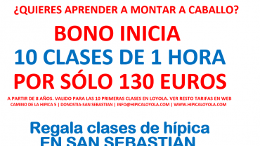 ESTAS NAVIDADES REGALA EL BONO INICIA