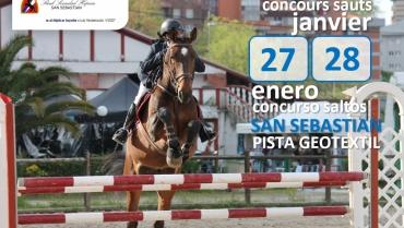 CLASIFICACIONES CONCURSO SALTO ENERO 27-28