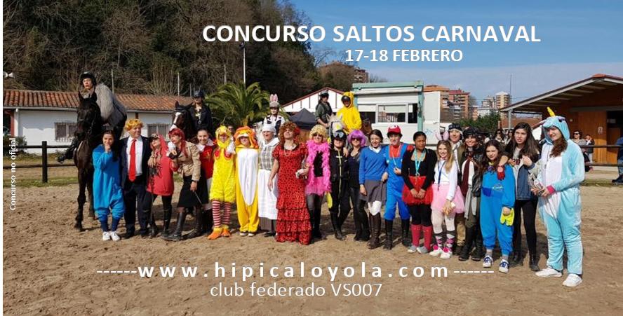 17-18 FEBRERO CONCURSO SALTOS CARNAVAL