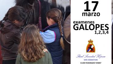 17 MARZO EXAMENES GALOPES EN LOYOLA