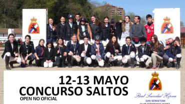 CLASIFICACIONES 12-13 MAYO CONCURSO SALTOS
