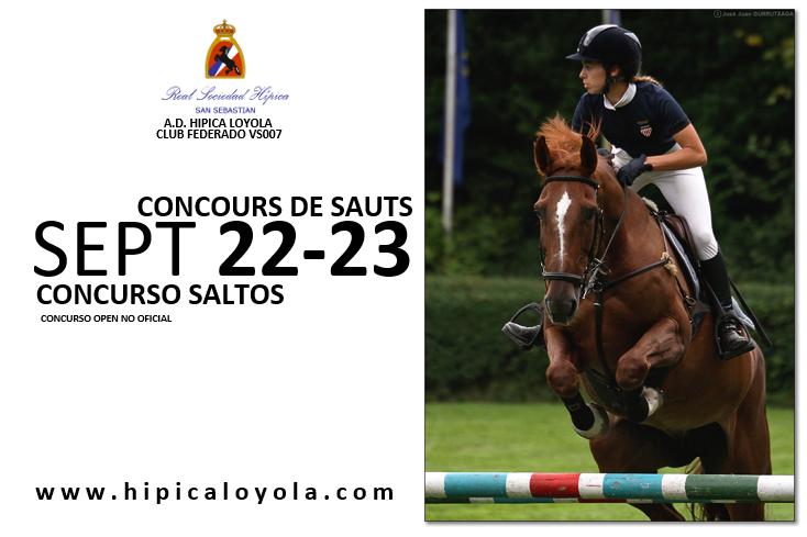 22-23 SEPTIEMBRE CONCURSO SALTOS