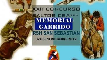 SUSPENDIDO CSA *** XXII MEMORIAL GARRIDO