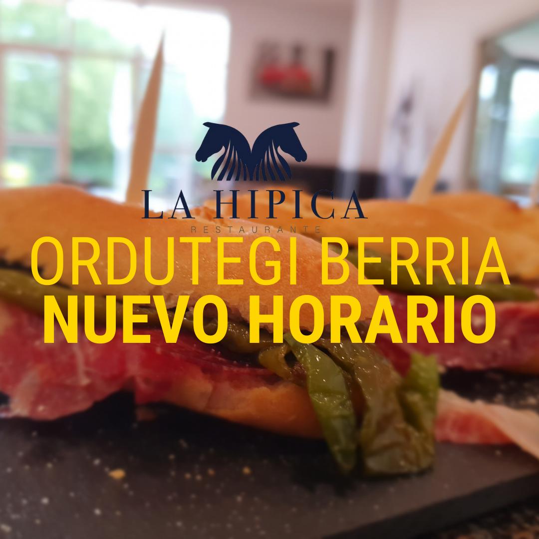 EL RESTAURANTE LA HIPICA AMPLIA SU HORARIO