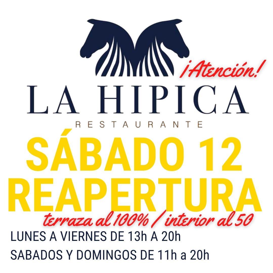 ESTE SABADO VUELVE EL RESTAURANTE LA HIPICA
