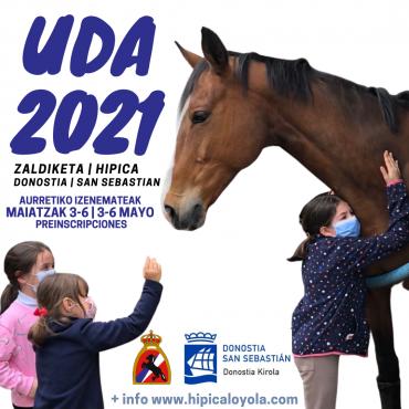 AURRETIKO IZENEMATEAK | UDA 2021 | PREINSCRIPCIONES