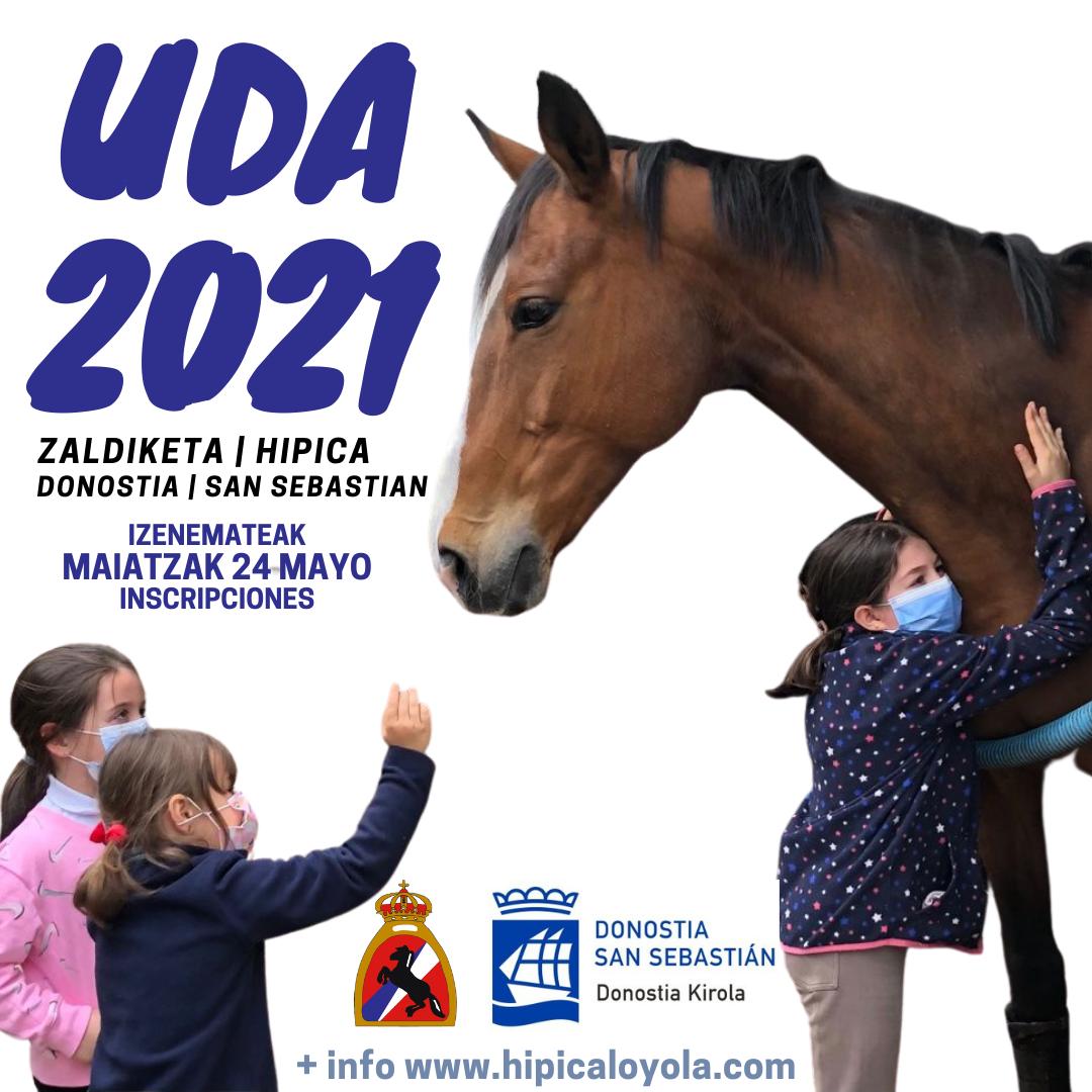 INSCRIPCIONES UDA 2021 A PARTIR DEL 24 DE MAYO